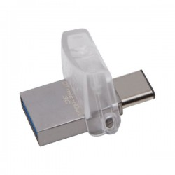 Pen Drive Kingston DataTraveler microDuo DTDUO3C da 32GB - USB 3.1 e Type-C - DTDUO3C/32GB